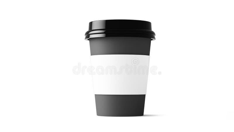 Πρότυπο φλυτζανιών καφέ διανυσματική απεικόνιση