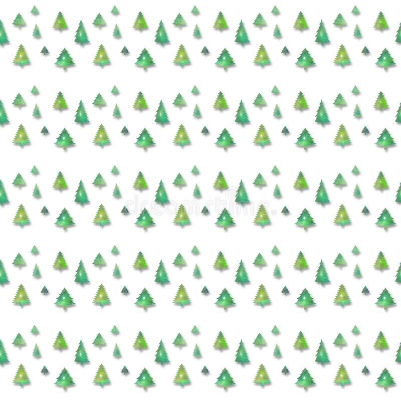 πρότυπο Χριστουγέννων άνευ ραφής απεικόνιση αποθεμάτων