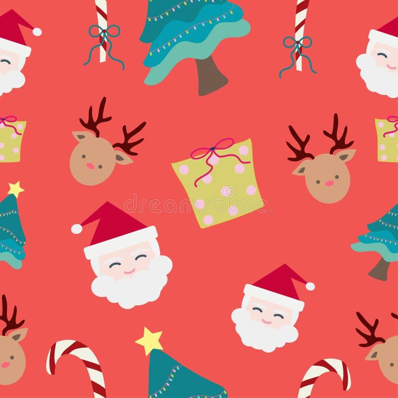 πρότυπο Χριστουγέννων ανα διάνυσμα, τέχνη εικονογράφων ελεύθερη απεικόνιση δικαιώματος