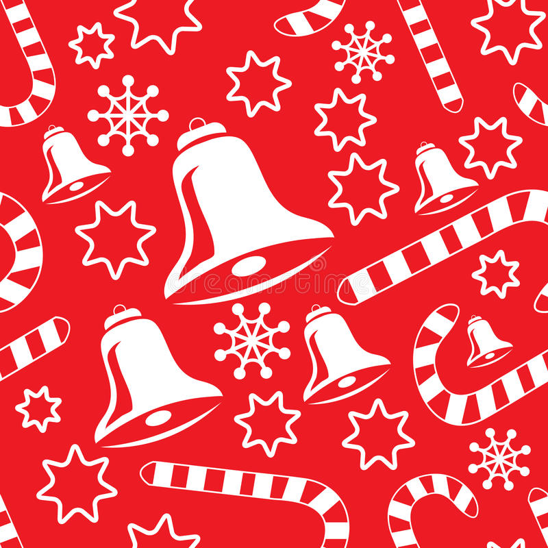 πρότυπο Χριστουγέννων κο&u διανυσματική απεικόνιση