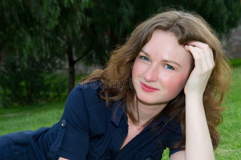 Πρότυπο, όμορφο κορίτσι στοκ φωτογραφία με δικαίωμα ελεύθερης χρήσης