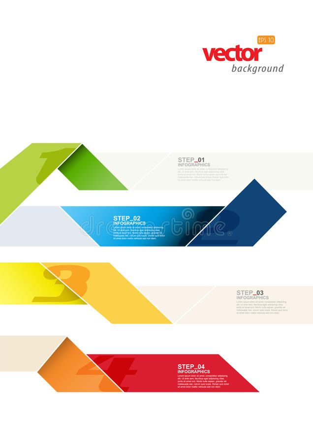 Πρότυπο Infographic διανυσματική απεικόνιση