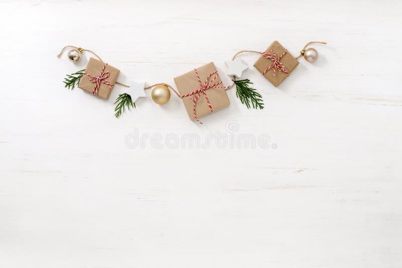 Πρότυπο Noel ή Χριστουγέννων για τη ευχετήρια κάρτα ή το ιπτάμενο στοκ εικόνα με δικαίωμα ελεύθερης χρήσης