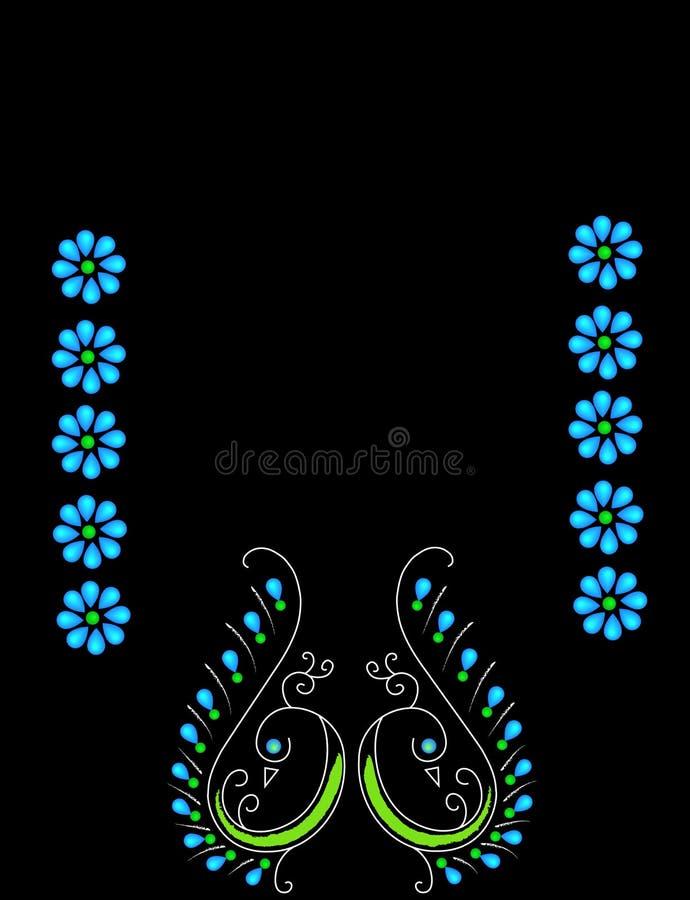 πρότυπο peacock στοκ φωτογραφία