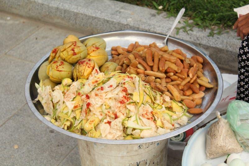 Πρόχειρα φαγητά της Καμπότζης στοκ εικόνες
