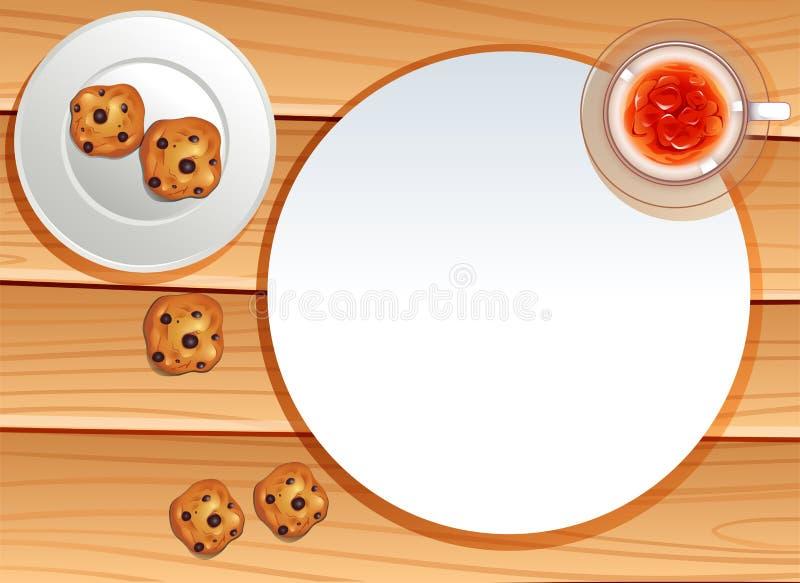 Πρόχειρα φαγητά διανυσματική απεικόνιση