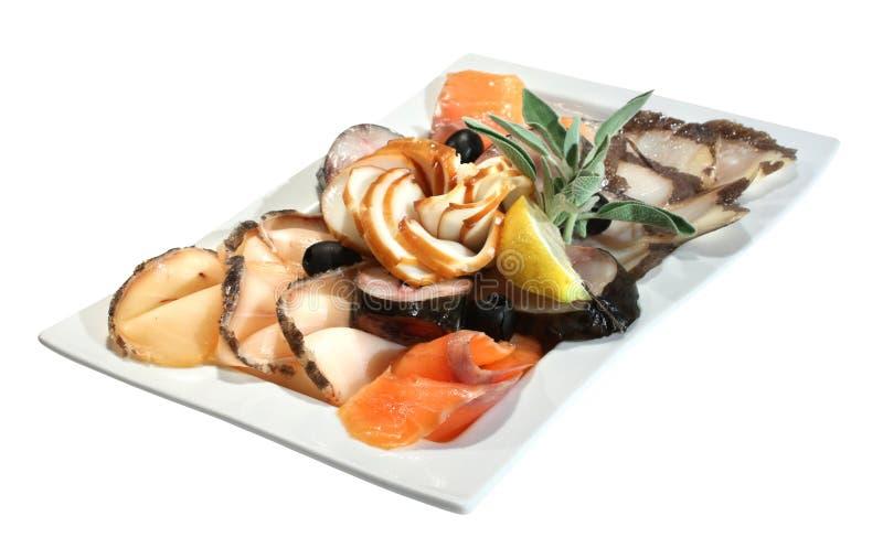 πρόχειρο φαγητό ψαριών στοκ φωτογραφία