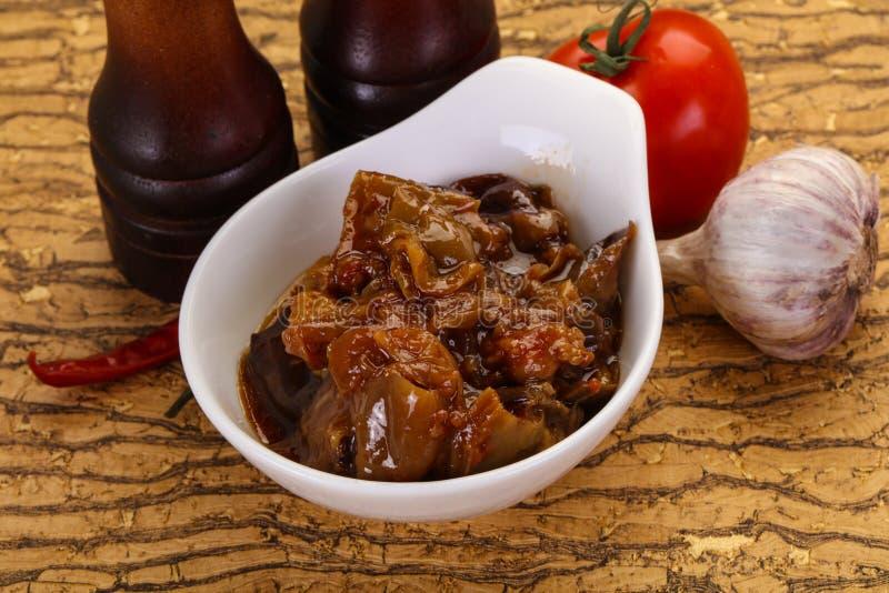 Πρόχειρο φαγητό Eggpant - ιμάμης bayaldy στοκ εικόνες με δικαίωμα ελεύθερης χρήσης