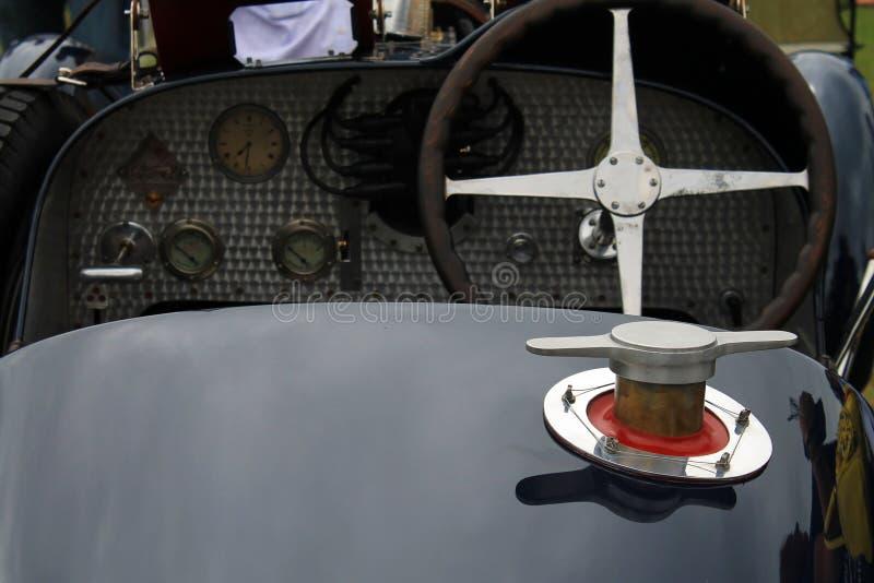 Πρόωρη 20η ΚΑΠ αερίου αθλητικών αυτοκινήτων αιώνα στοκ εικόνα με δικαίωμα ελεύθερης χρήσης