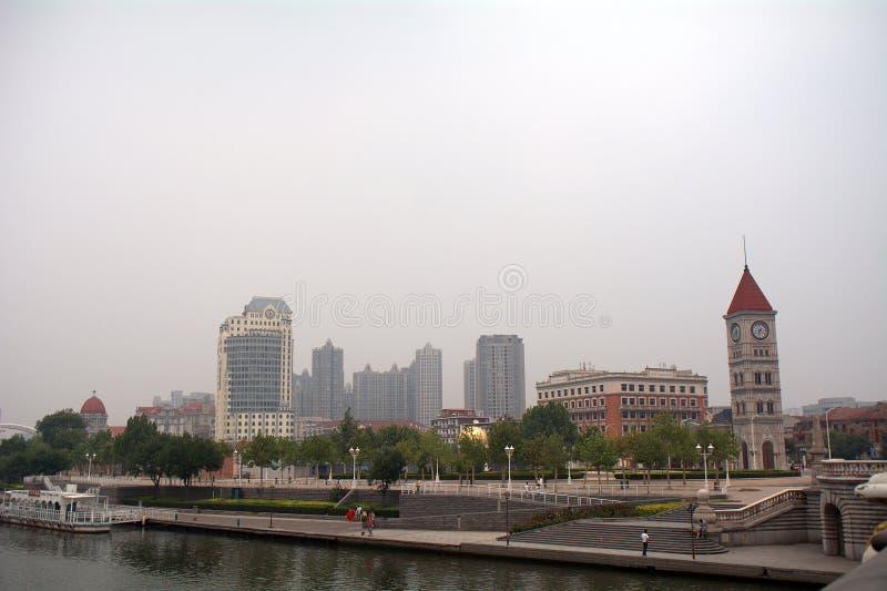 Πρώην αυστροούγγρη παραχώρηση, Tianjin, Κίνα στοκ φωτογραφία
