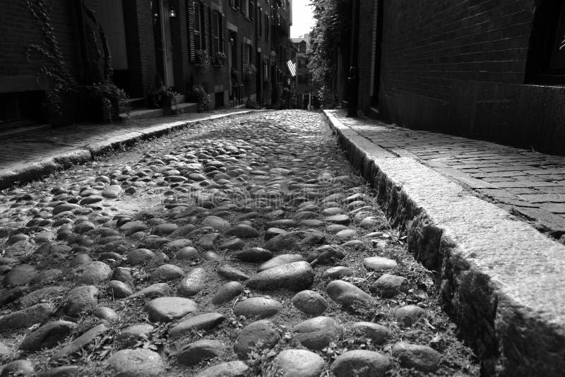 πρώιμη οδός της Αμερικής β&epsi στοκ εικόνες