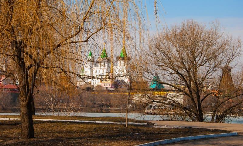Πρώιμο ελατήριο στη Μόσχα στοκ εικόνες με δικαίωμα ελεύθερης χρήσης