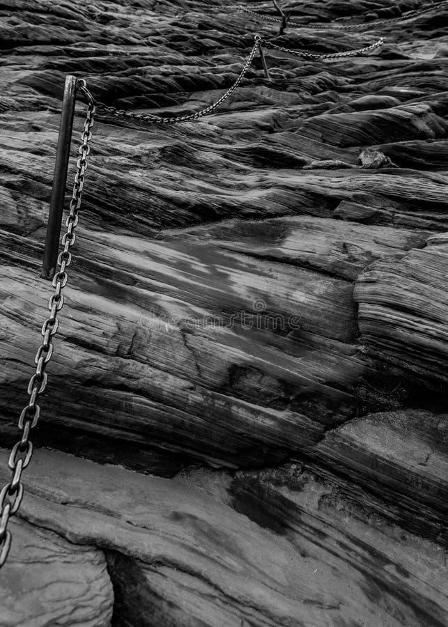 Πρώτες αλυσίδες στην προσγείωση αγγέλου ` s στοκ εικόνες