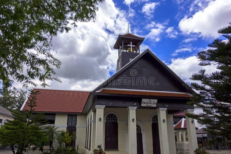 Πρώτη εκκλησία σε Chiang Rai στοκ φωτογραφία με δικαίωμα ελεύθερης χρήσης
