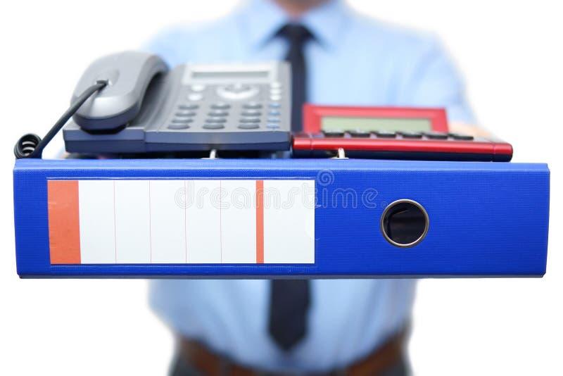 Πρώτη ημέρα στη νέα θέση Ο διευθυντής σας δίνει πολλές εργασία και πρόσβαση στοκ φωτογραφία με δικαίωμα ελεύθερης χρήσης