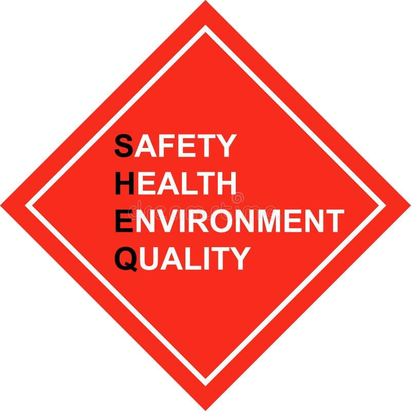 πρώτη σήμανση ασφάλειας το απεικόνιση αποθεμάτων