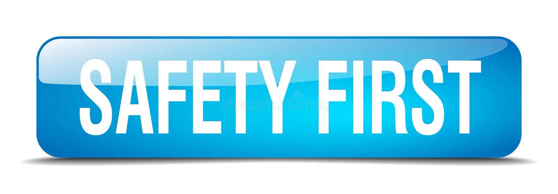 πρώτο κουμπί ασφάλειας απεικόνιση αποθεμάτων