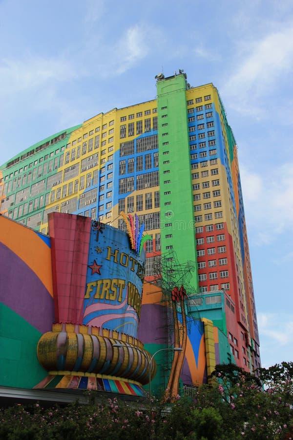 Πρώτο παγκόσμιο ξενοδοχείο στο Χάιλαντς Genting, Μαλαισία στοκ εικόνα με δικαίωμα ελεύθερης χρήσης