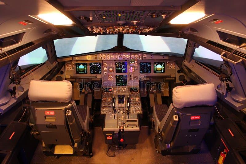 πτήση γεφυρών airbus στοκ εικόνα