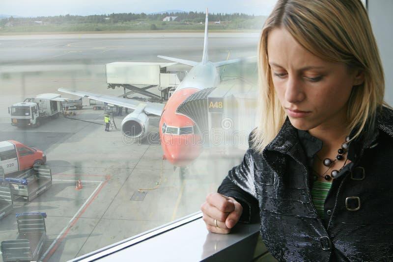πτήση καθυστέρησης στοκ φωτογραφία