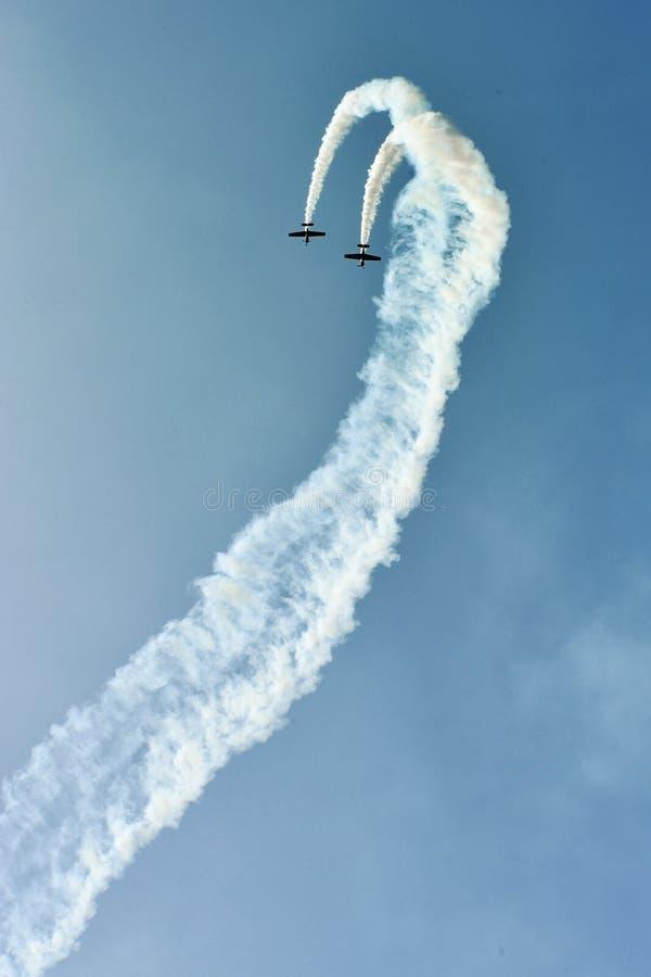 Πτήση Aerobatic στοκ φωτογραφία με δικαίωμα ελεύθερης χρήσης