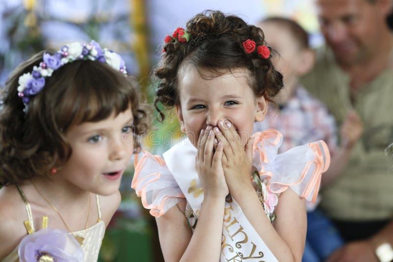 Πτυχιούχοι του παιδικού σταθμού στοκ εικόνα με δικαίωμα ελεύθερης χρήσης
