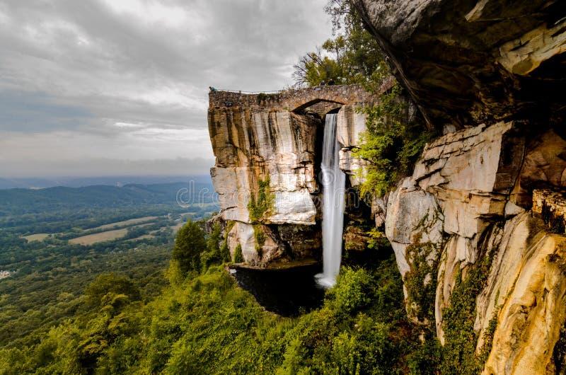 Πτώσεις βουνών επιφυλακής στοκ εικόνα με δικαίωμα ελεύθερης χρήσης