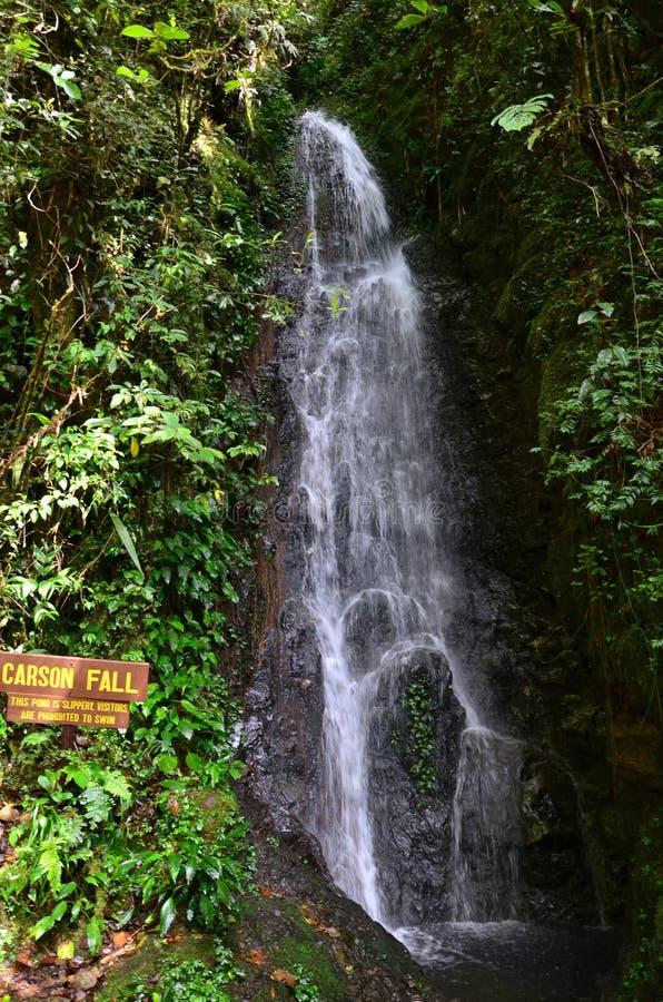 Πτώσεις του Carson, ΑΜ Kinabalu, στοκ φωτογραφία