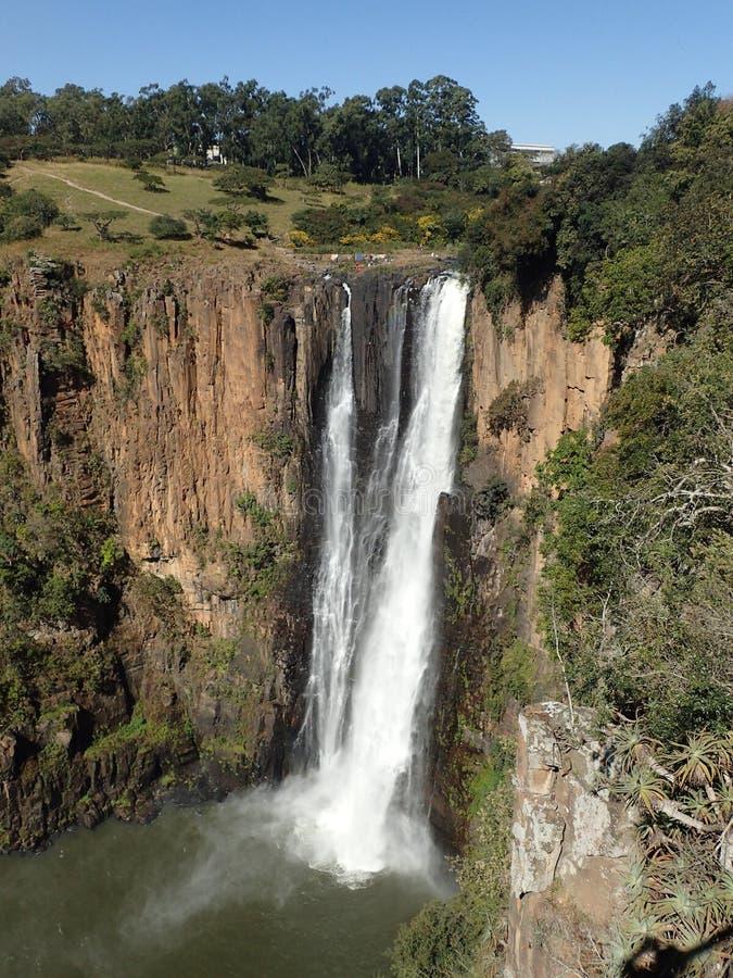 Πτώσεις Howick, Νότια Αφρική στοκ εικόνες
