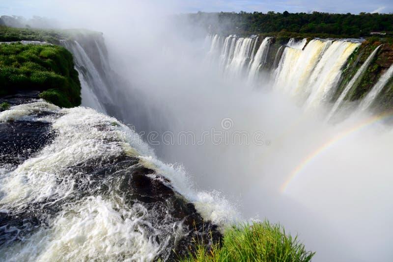 Πτώσεις Iguazu στοκ εικόνα με δικαίωμα ελεύθερης χρήσης