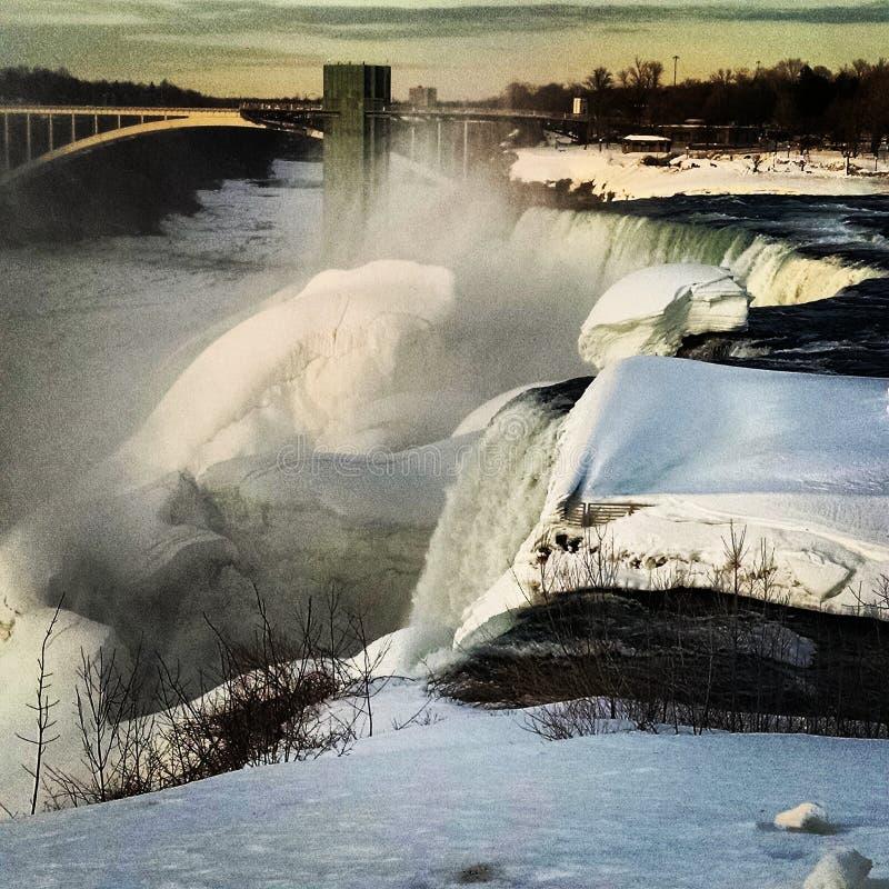 Πτώσης Niagara στοκ φωτογραφίες με δικαίωμα ελεύθερης χρήσης