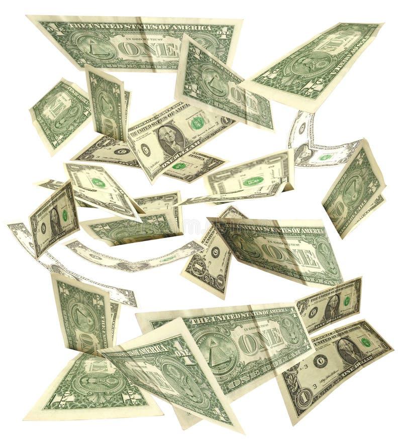 πτώση δολαρίων στοκ φωτογραφία με δικαίωμα ελεύθερης χρήσης