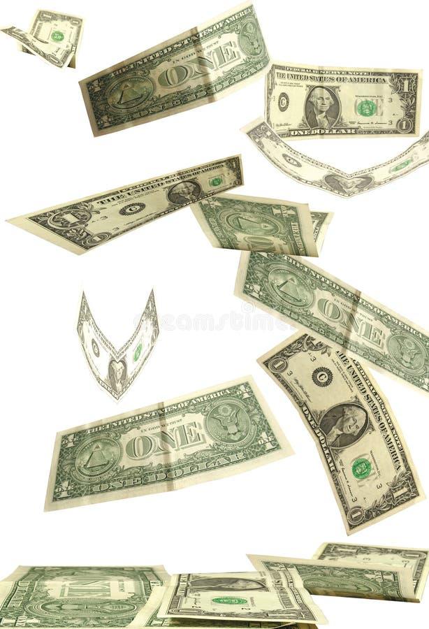 πτώση δολαρίων στοκ εικόνα