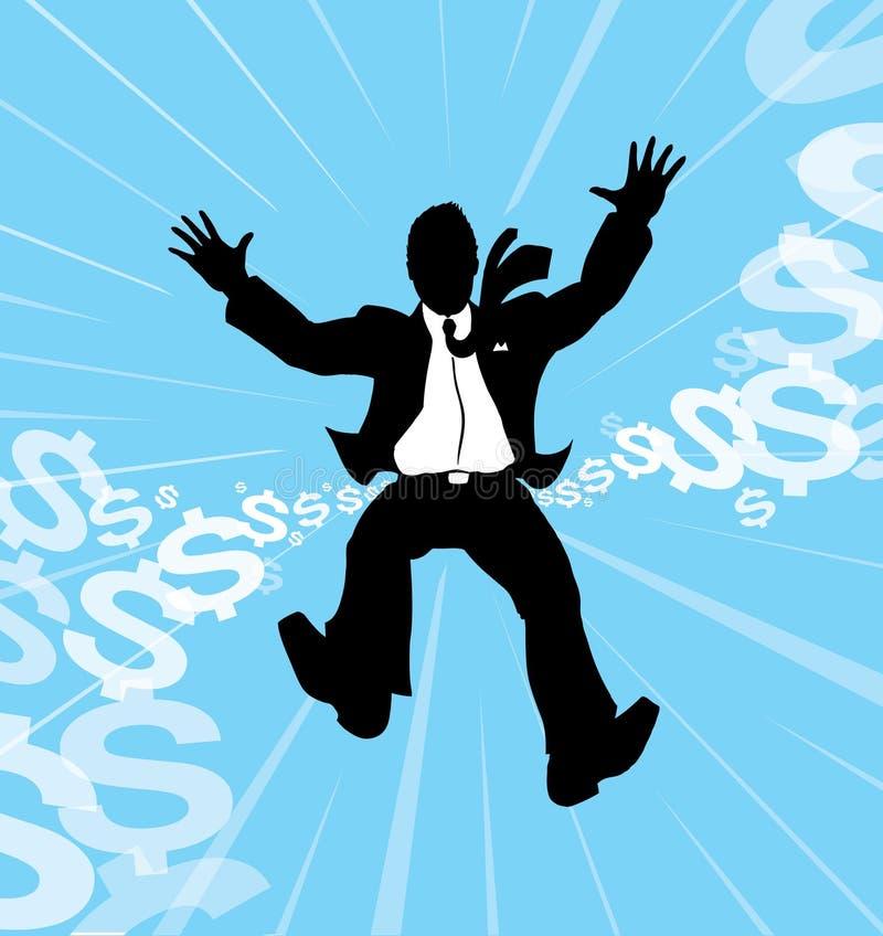 πτώση επιχειρηματιών ελεύθερη απεικόνιση δικαιώματος