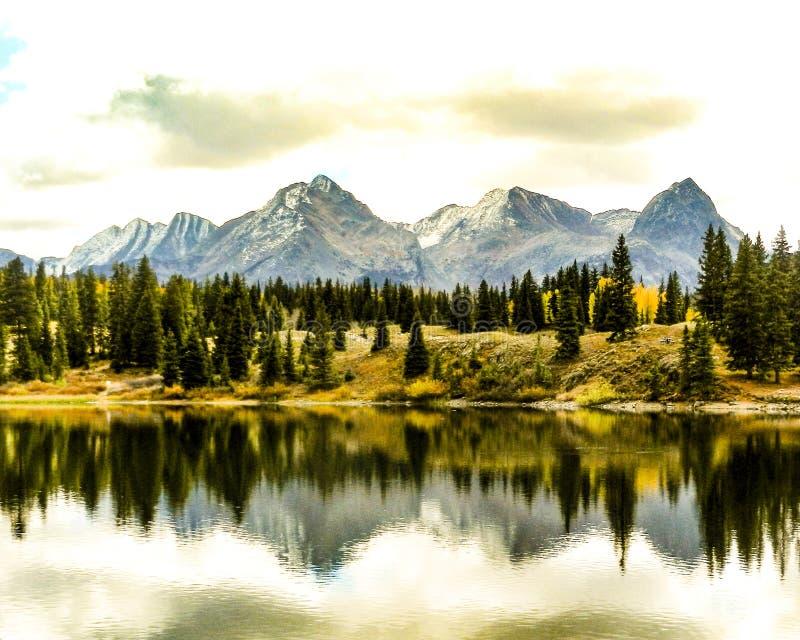 Πτώση Κολοράντο αντανακλάσεων στοκ φωτογραφία με δικαίωμα ελεύθερης χρήσης