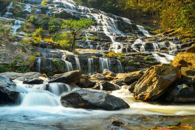 Πτώση νερού της Mae Ya στοκ εικόνες με δικαίωμα ελεύθερης χρήσης