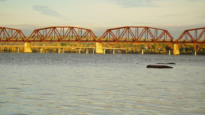 Πτώση σε Fredericton, Καναδάς στοκ εικόνα