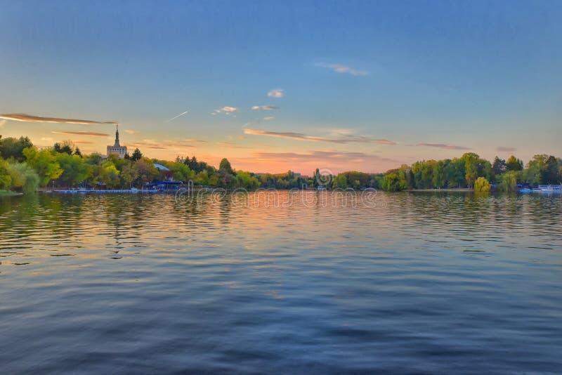 Πτώση στη λίμνη στοκ φωτογραφίες με δικαίωμα ελεύθερης χρήσης