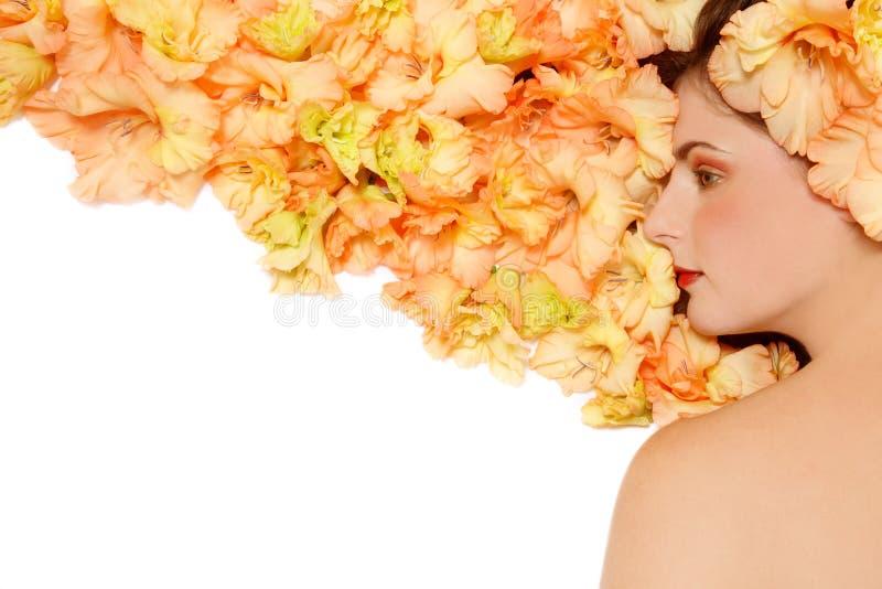 πτώση hairstyle στοκ εικόνα με δικαίωμα ελεύθερης χρήσης