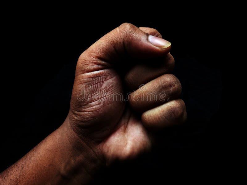 Πυγμή Srength χεριών στοκ εικόνα