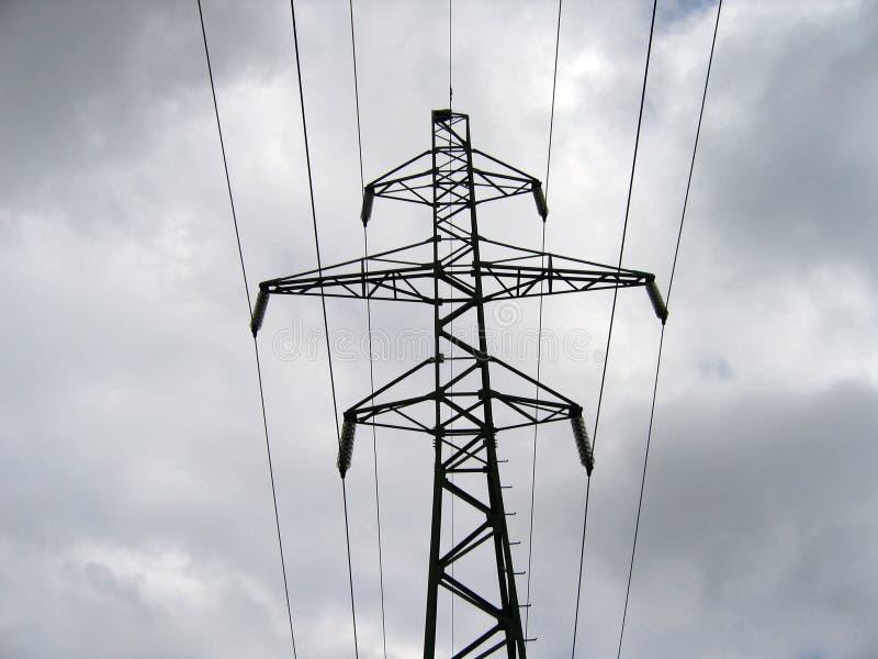 πυλώνας ηλεκτρικής ενέργειας στοκ φωτογραφία