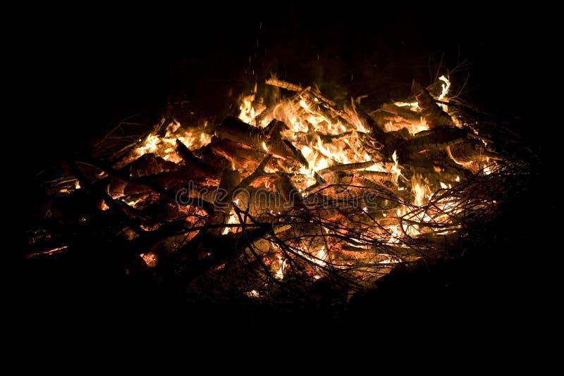 πυρά προσκόπων θερμή στοκ φωτογραφίες με δικαίωμα ελεύθερης χρήσης