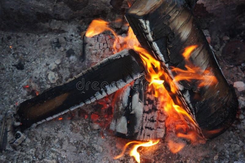 Πυρά προσκόπων στοκ φωτογραφία