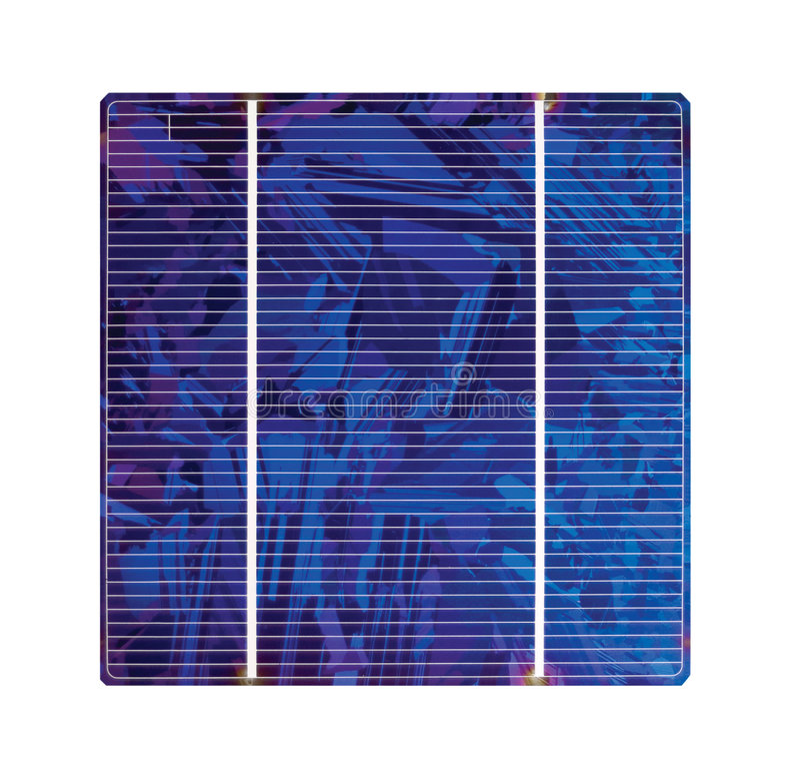 πυρίτιο κυττάρων ηλιακό στοκ εικόνες