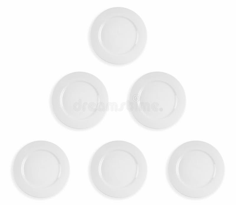 πυραμίδα πιάτων στοκ εικόνες με δικαίωμα ελεύθερης χρήσης