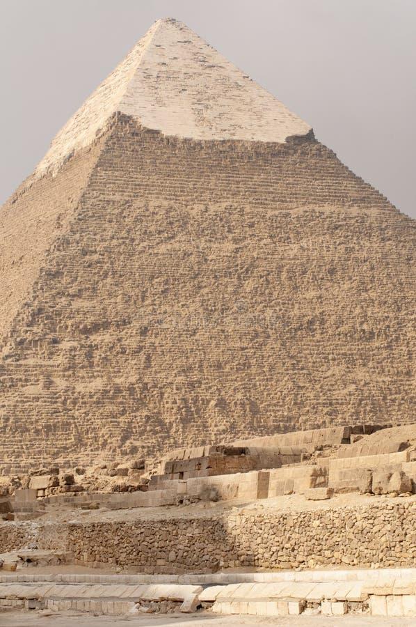 πυραμίδα της Αιγύπτου khafre στοκ εικόνα με δικαίωμα ελεύθερης χρήσης