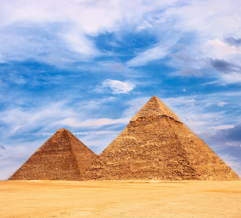 πυραμίδα στοκ φωτογραφίες