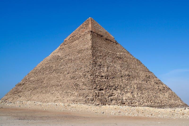 Πυραμίδα Cheops - του Καίρου, Αίγυπτος στοκ εικόνα με δικαίωμα ελεύθερης χρήσης