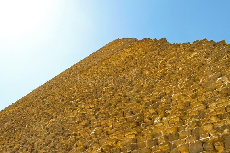 Πυραμίδα Giza στοκ εικόνα
