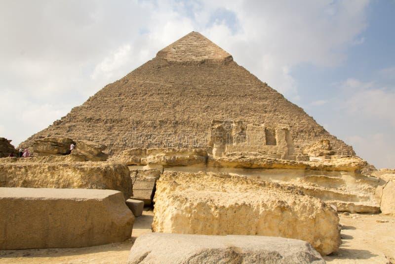 Πυραμίδα Khufu στοκ φωτογραφίες με δικαίωμα ελεύθερης χρήσης